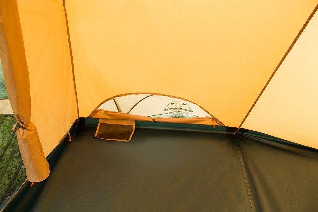 快適な寝室 広いリビングと快適な寝室、1人で設営可能な4-5人用2ルームテント Amazon楽天で通販03