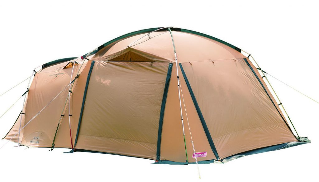 強風に強いタフ設計 広いリビングと快適な寝室、1人で設営可能な4-5人用2ルームテント Amazon楽天で通販05