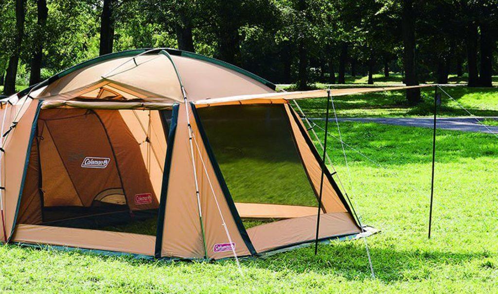 快適な寝室 広いリビングと快適な寝室、1人で設営可能な4-5人用2ルームテント Amazon楽天で通販04